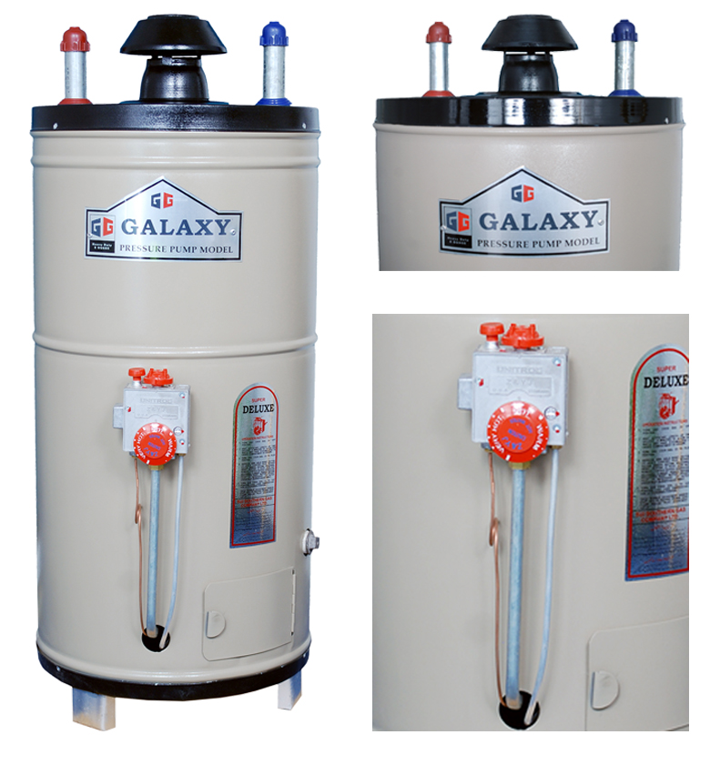 15 gallons water heater