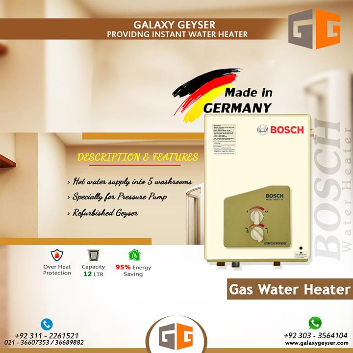 Bosch Gas Water Heater 12L