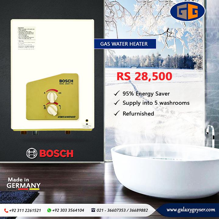 Bosch Gas Water Heater