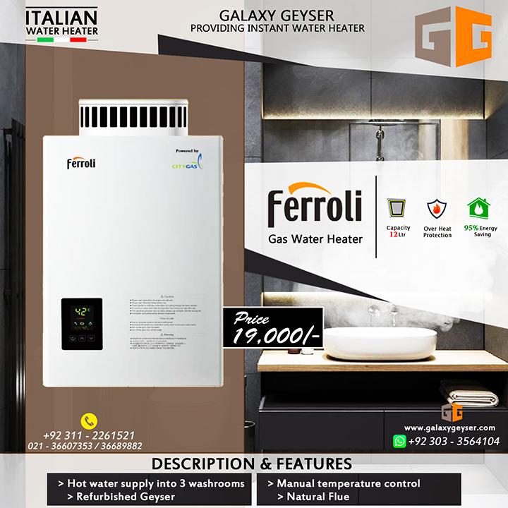 Ferroli Gas Water Heater