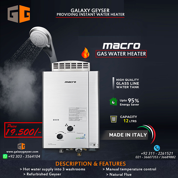 Macro Gas Water Heater